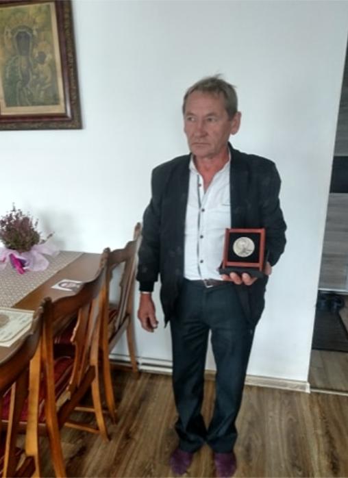 Rodzina Jacewiczów odznaczona medalem Sprawiedliwy wśród Narodów Świata