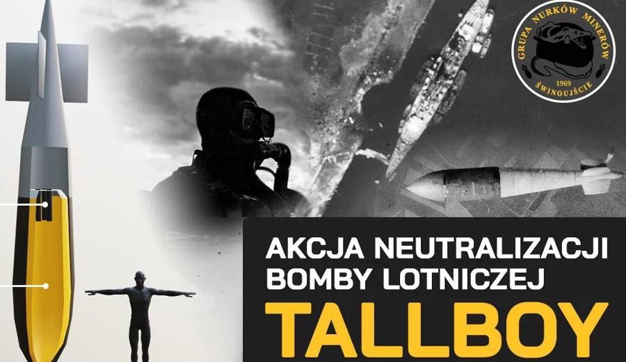 W Świnoujściu rozpoczęła się akcja neutralizacji bomby Tallboy!