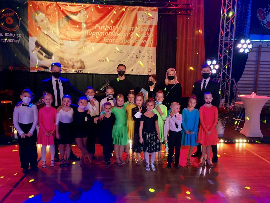 Tancerze KTS Focus na Mistrzostwach i Pucharze Zachodniopomorskiego Związku Tańca